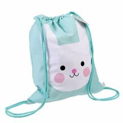 Rex International Rex gym bag Bunny Bonny mint cotton