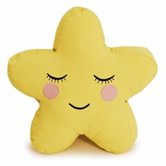 Roommate Roommate cuddly pillow star yellow