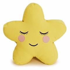 Roommate Roommate knuffelige kussen ster geel