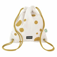Roommate Roommate Gym Bag 35x30cm Golden Dots