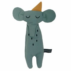 Roommate Roommate knuffeldier pop olifant blauw ca. 30cm