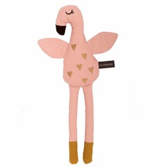 Roommate Roommate knuffeldier pop flamingo roze ca. 30cm