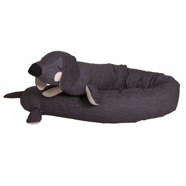 Roommate Roommate Bettschlange Lazy Dog grau