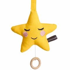 Roommate Roommate music box star yellow Brahms-slaapliedje