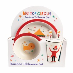 Rex International Rex Children's Tableware Bamboo Top Circus 5s