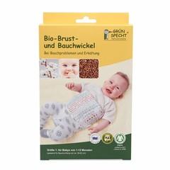 Grünsprecht Naturprodukte Grünspecht organic breast and abdominal wrap size 1 (1-12 months)