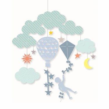 """Djeco Djeco Mobile """"In the Air"""" kleurrijk"""