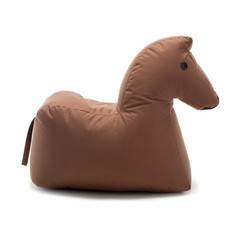 Sitting Bull HAPPY ZOO paard bruin zitkussen Lotte