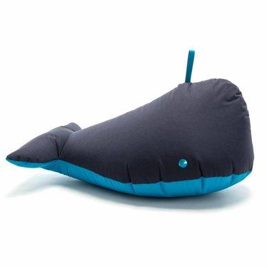 Sitting Bull GELUKKIGE ZOO walvis blauwe zitkussen Ben