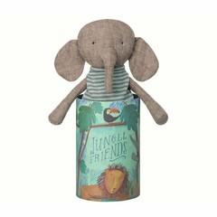 Maileg Peluche Maileg Elephant Jungle Friends avec boîte