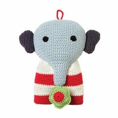 Franck & Fischer FRANCK & FISCHER | Gehaakte speelgoed bastian olifant