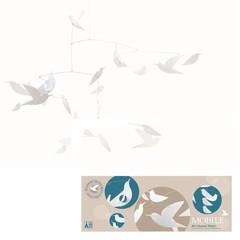 Djeco Djeco Mobile | Weisse Vögel aus Papier (FSC)