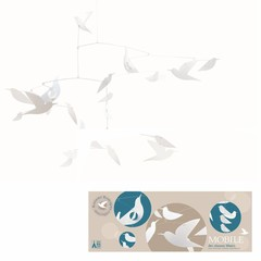 Djeco Djeco Mobile | White birds made of paper (FSC)