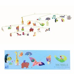 Djeco Djeco Mobile Polypro | Karneval der Tiere bunt
