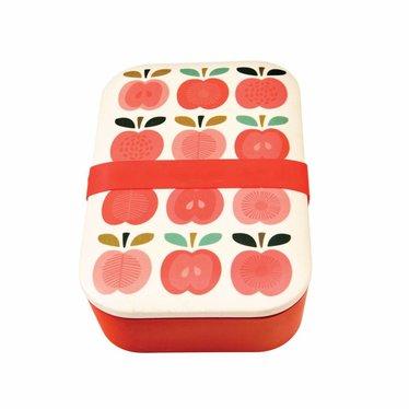 Rex International Rex Brotdose Lunchbox Bambus Vintage Apple