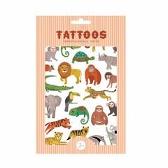 Petit Monkey Petit Monkey Tattoos | Animals figures jungle animals