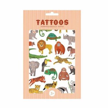 Petit Monkey Petit Monkey Tattoos | Tiere Figuren Dschungeltiere