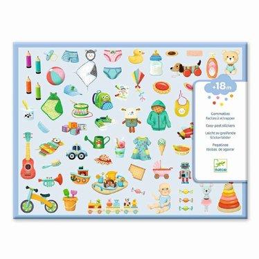 Djeco Djeco Sticker Mijn kleine wereld 300 stuks