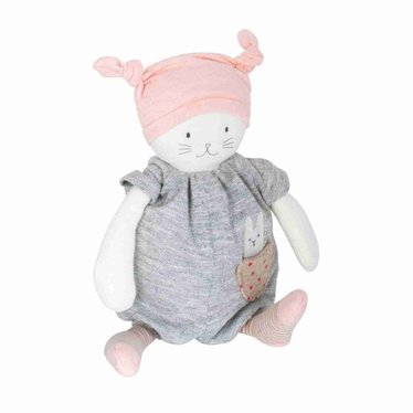 Moulin Roty Moulin Roty Spieluhr Katze rosa Moon Les Petits Dodos