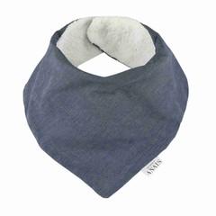 Trixie Baby Trixie Bandana Bib-sjaal Eclipse Blue