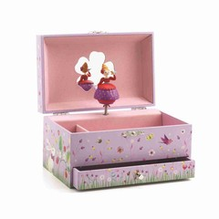 Djeco Djeco jukebox jewelry box princess pink