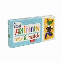 Petit Monkey Petit Monkey Spiel | Tiere Mix & Match