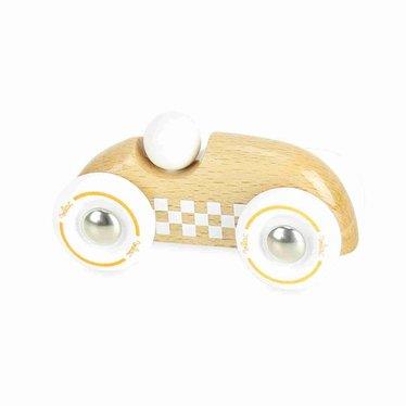 Vilac Vilac Mini Checkers Ralley Auto Holz natur