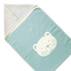 David Fussenegger David Fussenegger jewel puck blanket hood turquoise