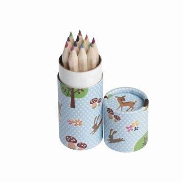 Rex International Rex 12 crayons in tin | Fawn Woodland