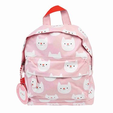 Rex International Rex mini kids backpack cat cookie pink