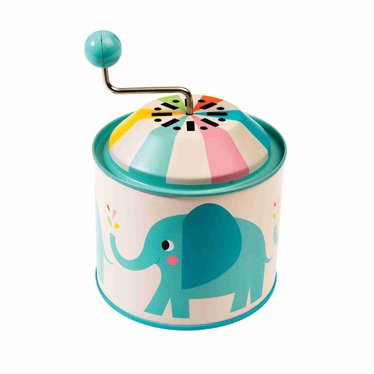 Rex International Rex Music Box Metal Music Box Elephant Elvis