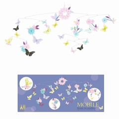 Djeco Djeco Mobile | Dance of butterflies paper FSC