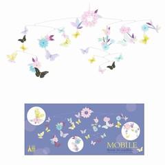 Djeco Djeco Mobile | Tanz der Schmetterlinge Papier FSC