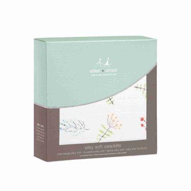 Aden + Anais Aden + Anais Swaddle Silky Soft Lucky Field Flowers 120x120
