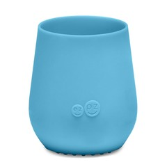 ezpz ezpz Tiny Cup Silicone Drinking Cup blue