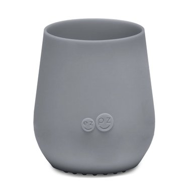 ezpz ezpz Tiny Cup Silicone Drinking Cup Gray