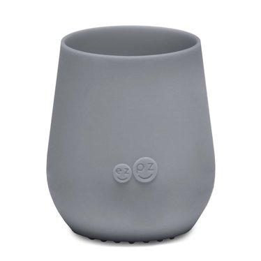 ezpz ezpz Tiny Cup siliconen drinkbeker grijs