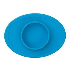 ezpz ezpz Tiny Bowl Silicone Place Mat Plate blue