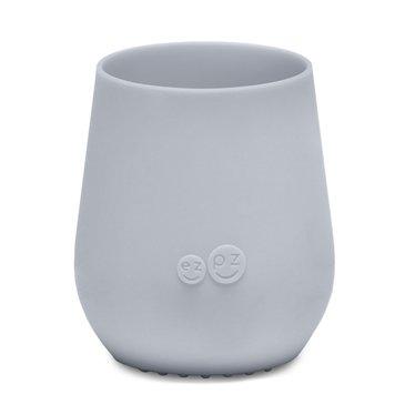 ezpz ezpz Tiny Cup Silikon Trinkbecher silber grau