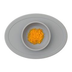 ezpz ezpz Tiny Bowl Silicone Place Mat Plate Gray