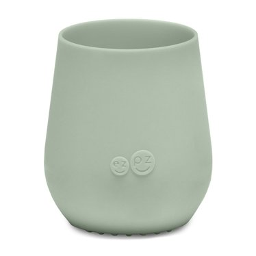 ezpz ezpz Tiny Cup siliconen drinkbeker amandelgroen