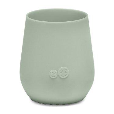 ezpz ezpz Tiny Cup Silikon Trinkbecher mandel grün