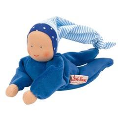 Käthe Kruse Käthe Kruse Nickibaby pop blauw 20cm