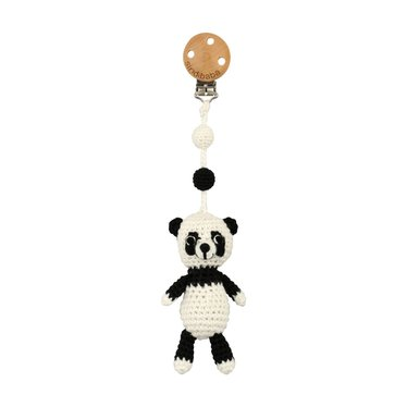 Sindibaba Sindibaba Kinderwagenanhänger Panda s/w