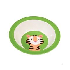 Rex International Rex Schale Melamin Kindergeschirr Tiger grün