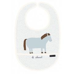 Petit Jour Paris Petit Jour Bib boerderij paard blauw