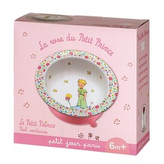 Petit Jour Paris Petit Jour Kleiner Prinz Bol Schale Saugnapf rosa