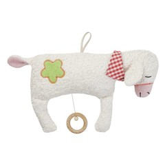 "Efie Efie Musical sheep large ""Lullaby Mozart"" white KbA"