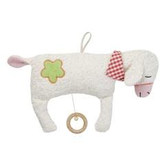 Efie Efie Spieluhr Schaf groß Organic | La Le Lu weiß kbA