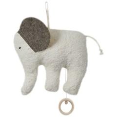 """Efie Efie Musical olifant """"Je witte hoeveel sterren"""" witte KBA"""